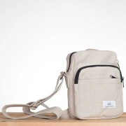 Rawganique Santa Fe Organizer Hemp Canvas Shoulder Bag RGBG-501