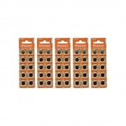 5x 10pk Vinnic Size LR44 L1154 V357 AG13 Watch Battery Alkaline