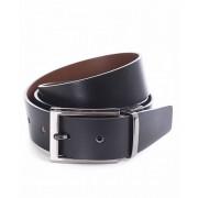 Miguel Bellido Cinturón clásico reversible Piel Negro/Marrón 100