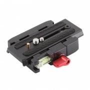 Sistem Prindere Quick Release KIT P200 Quick Release Assembly QR Clamp Base Plate Manfrotto 500 AH 701 503 HDV577