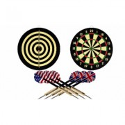 Trademark Games Dart Game Set with 6 Darts & Board