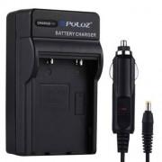 PULUZ® 2 i en batteriladdare för Fujifilm NP-60 / NP-30, Kodak K5000 / K5001, Olympus LI-20B, Samsung SLB-1037/1137 batteri