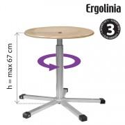 Pracovní stolička ERGOLINIA 10003