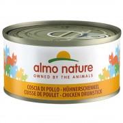 Almo Nature 6 x 70 g - Atum e anchovas