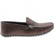 Kegoff Brown Loafers shoes for Mens