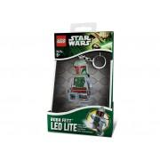 LGL-KE19 Breloc cu lanterna LEGO Boba Fett