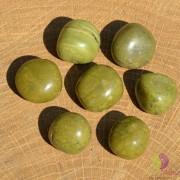 Opal verde rulat 18-20mm