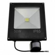 Proiector de Lumina cu LED-uri de 50 W cu Senzor de Miscare 6000 K Rezistent la Apa IP66 Negru