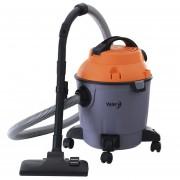 Aspiradora Valory Tambor Polvo y Agua Vat880 1000 Watt-Gris con Naranjo