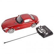 Goplus New 1/14 Scale Radio Remote Control RC Car Licensed Mercedes Benz SLS AMG Red New