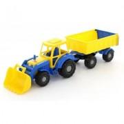 WADER-POLESIE Altaj Traktor z przyczepą i łyżką