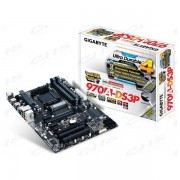 GIGABYTE Alaplap AM3+ 970A-DS3P AMD 970, ATX