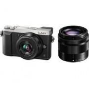 Panasonic Lumix DMC-GX80 + 12-32 mm + 35-100 mm (srebrny) - Raty 30 x 99,97 zł