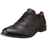 Levis Men's King Evans Black Boots - 7.5 UK/India (41 EU) (19238-0002)