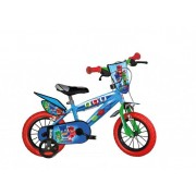 Bicicleta pentru copii Dino Bikes Eroii in pijama, 14 inch