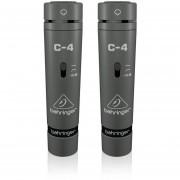 Micrófonos De Condensador Behringer C-4-Negro