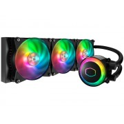 CPU cooler CoolerMaster MasterLiquid ML360R RGB, Water, 3x fan 120mm, 24mj, (MLX-D36M-A20PC-R1)