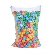 Set 500 bile mari 6 cm Striped Play Pool Balls