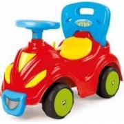 Masina fara pedale 2 in 1 DOLU realizata din plastic rezistent Multicolor