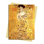 Gustav Klimt: Adele Bloch Bauer Greeting Card