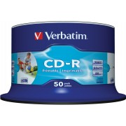 CD-R Verbatim full printabilni 1/50