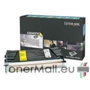 Тонер касета LEXMARK C5240YH (Yellow)