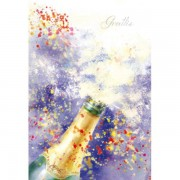 Gratulationskort mini Grattis 8