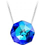 Preciosa Luxusní náhrdelník s třpytivým přívěskem Helios 7366 46