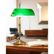 Messing Banker's Lamp