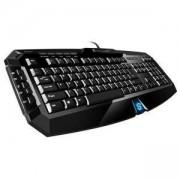 Геймърска клавиатура Sharkoon Skiller, Гумена мембрана, USB, 13647