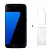 Samsung Galaxy S7 G9300 5.1 Pulgadas 4 GB RAM 32 GB ROM Quad Core Negro + Protector De Pantalla + Estuche
