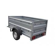 Remorque 200 x 106 doubles ridelles PTAC 500 kg Garden Trailer 200 Unitrailer
