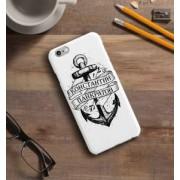 """Именной чехол для iPhone """"Дух странствий"""" белый"""