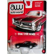 Auto World 1967 Chevy Corvette 427 Black #4 Accurate 1:64 Scale Highest Quality Collectible
