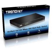 Trendnet TPE-1016L 16-port 10/100Mbps 250W PoE+ AV Switch