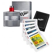 Kit James Bond 007 Quantum Perfume Masculino EDT 50ml + Playing Cards - Masculino