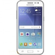 Certified Used Samsung Galaxy-J2 1 GB RAM 8 GB Internal Memory White Color (1 Year Warranty)
