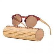 Elegantné drevené okuliare pre dámy