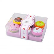 New Classic Toys - Cupcake Assortment In Giftbox - 6 Pieces (10627)