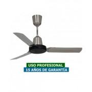 Vortice Ventilador De Techo Vortice 61024 Nordik Heavy Duty Inox 120cm Acero Inoxidable / Gris