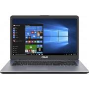 ASUS VivoBook 17 M705BA-BX030T-BE Notebook Grijs 43,9 cm (17.3'') 1600 x 900 Pixels AMD A4 4 GB DDR4-SDRAM 256 GB SSD Wi-Fi 5 (802.11ac) Windows 10 Home