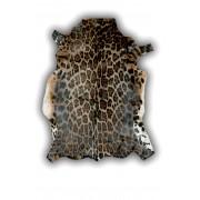 ALFOMBRA DE PIEL DE BLESBOK (ANTILOPE AFRICANO) IMITACION PANTERA PEQUEÑA