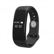Quazar sport-fitness okosóra aktivitásmérővel, híváskijelzővel, fekete