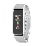 Fitness Tracker GPS Mykronoz ZeFit3 Wristband IP67 Argento Bianco
