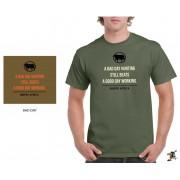 """Sniper Men """"Good day"""" T-Shirt (Olive)"""