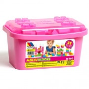Molto - 35Piece Blocks Box, Pink