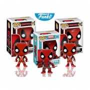 Set 3 piezas deadpool Funko pop pelicula deadpool marvel