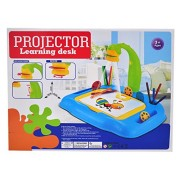 Inspiring Projector Learning Desk for Little Artist in Your Home - Great kids Art pad for Drawing & coloring easel style tracing board