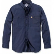 Carhartt Rugged Professional Work Long Sleeve Shirt Camicia a manic... Blu XL