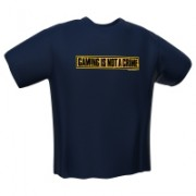 GamersWear Not a Crime T-Shirt Navy (XL)